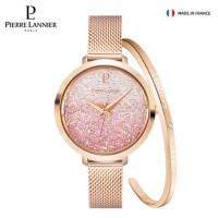 Pierre Lannier/连尼亚法国轻奢满天星手表女星钻PL手表097M958